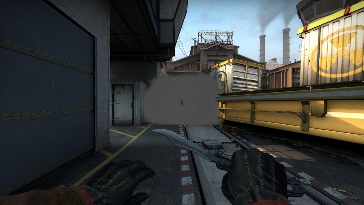 Раскидки на карте Train в CS GO