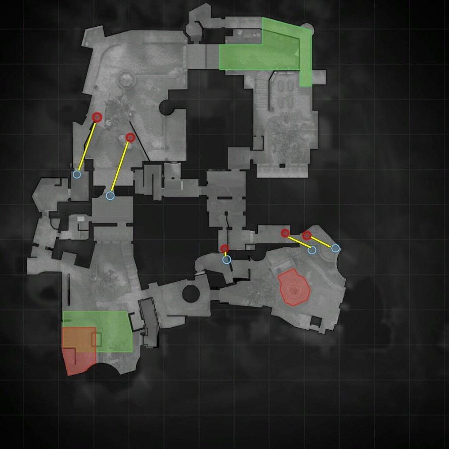 Тактики на карте Cobblestone CS GO