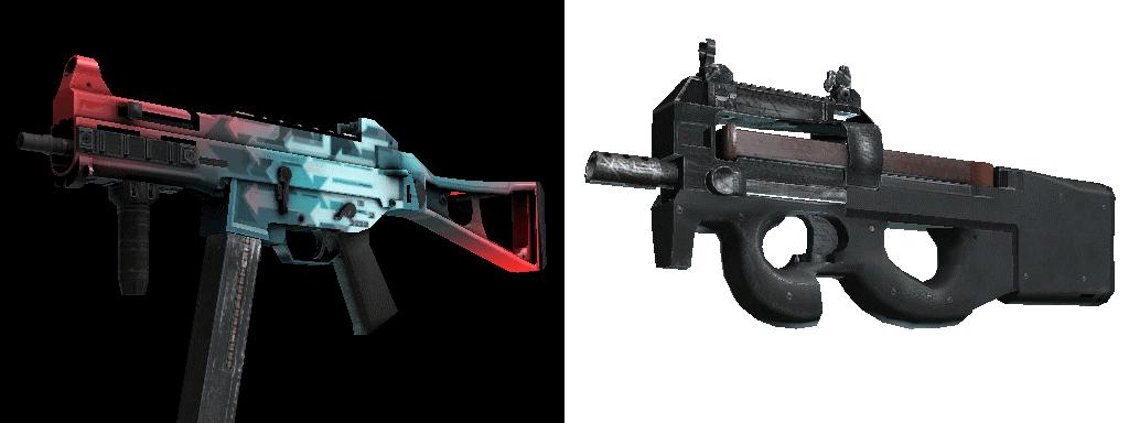 Лучшие оружия в cs:go