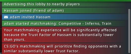 как поднять фактор доверия cs go