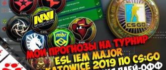 Прогноз на стадию чемпионов Pick'Em Challenge, Katowice 2019 (плейофф)