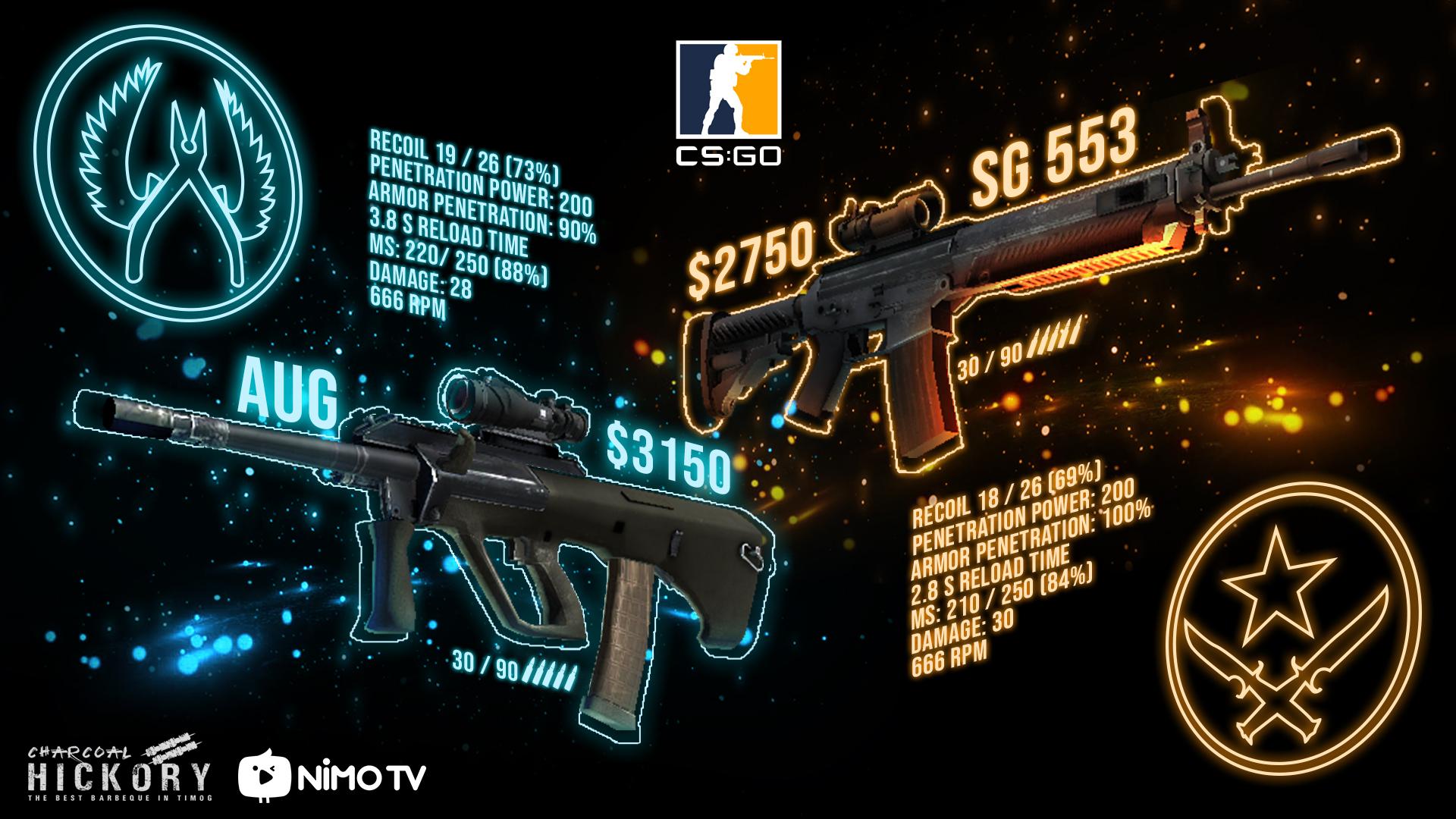SG 553 новая мета