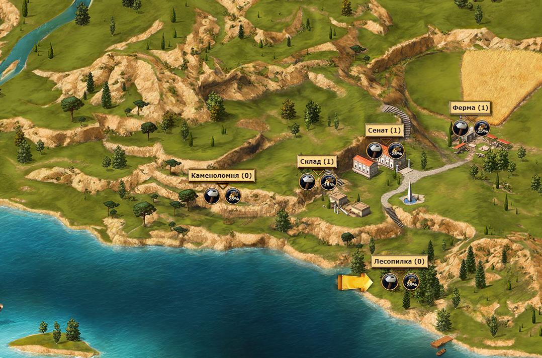 Обзор игры Grepolis