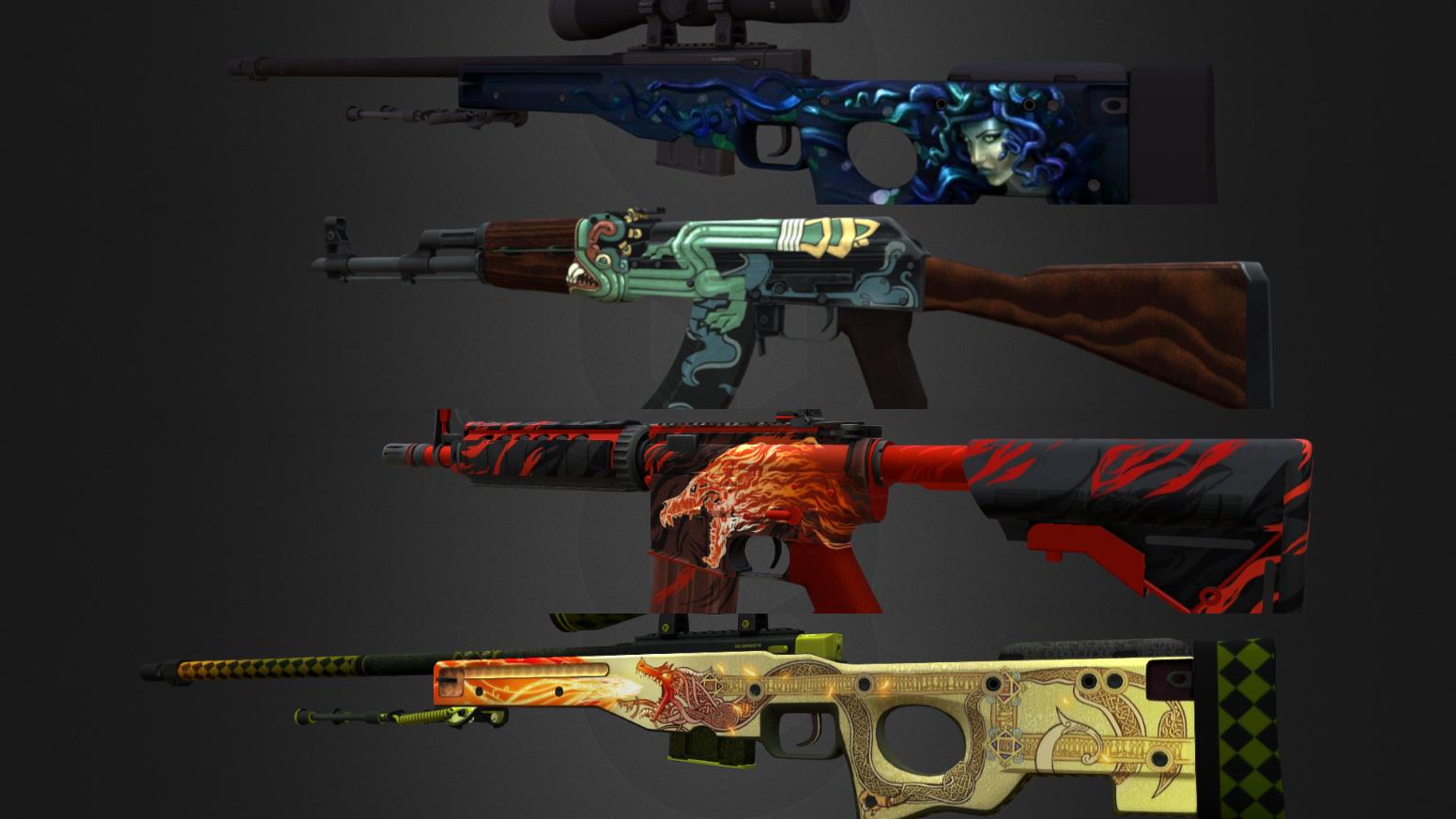 Скины в CS GO: типы оружия, степени износа, StatTrak, наклейки и сувениры