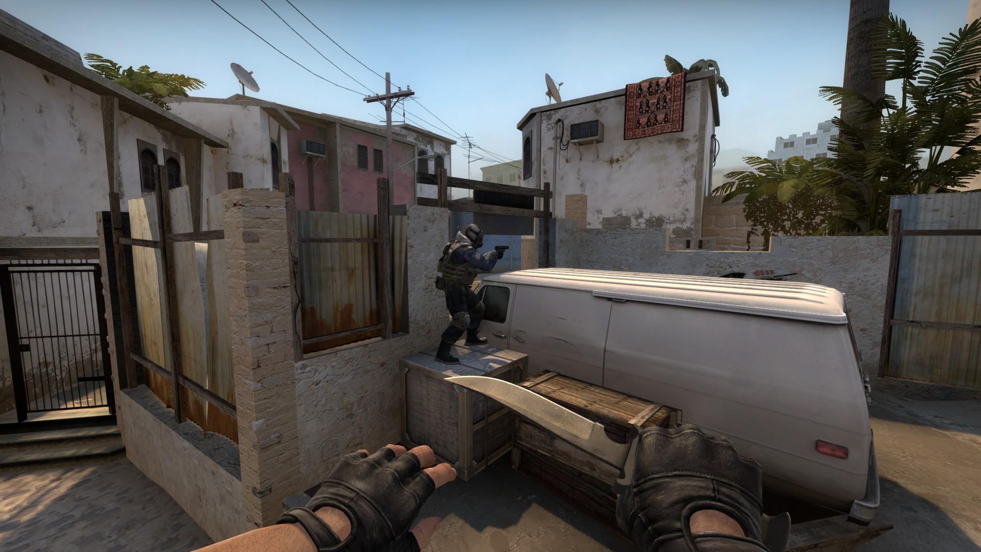 Прострелы на карте Mirage CS:GO
