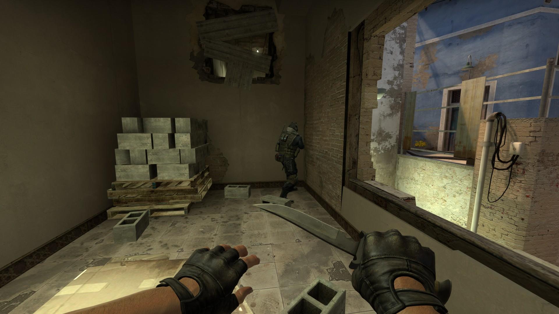 Прострелы на карте Mirage кс го