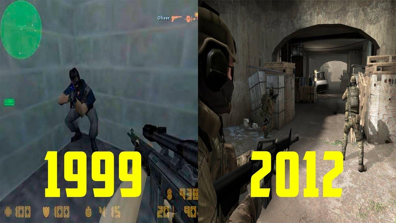 Когда вышла кс го, сколько лет CS 1.6 и CS GO