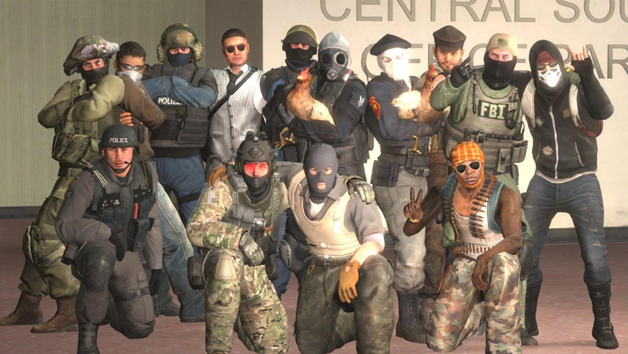 Террористы в CS:GO