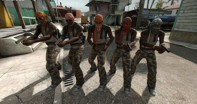 команда террористов в кс го