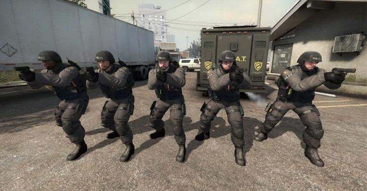 команда спецназа в cs go