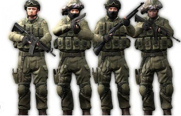 команда спецназа в cs:go