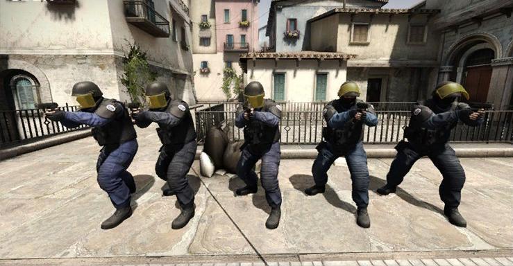 команда спецназа