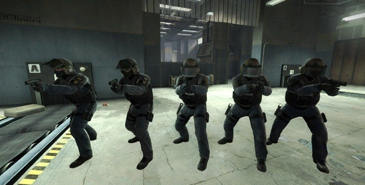 команда контр-террористов в кс го