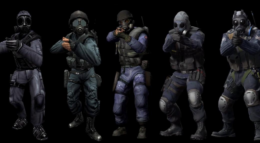 команда контр-террористов в cs go