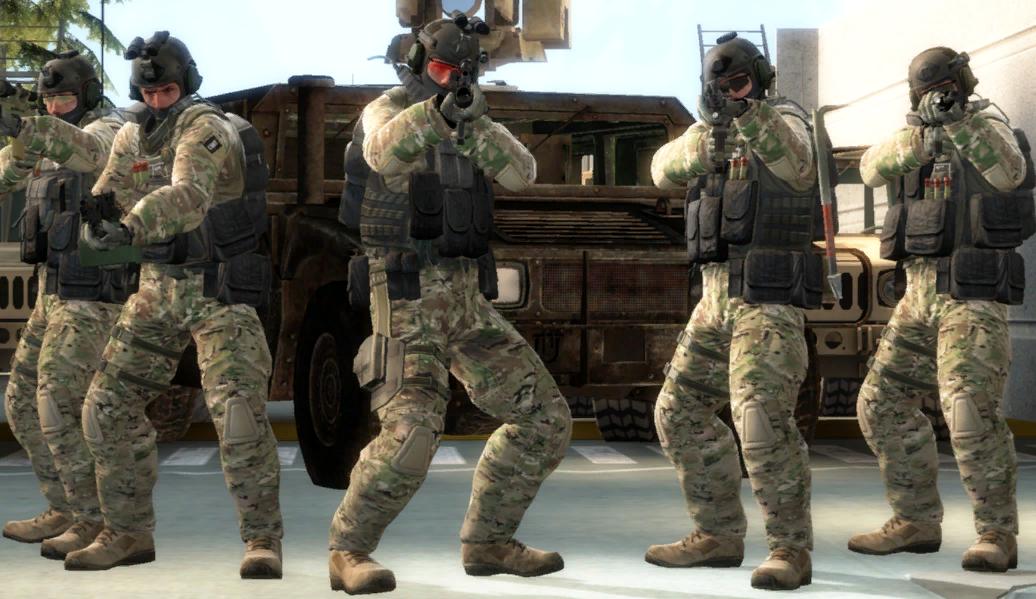 команда контр-террористов в cs:go