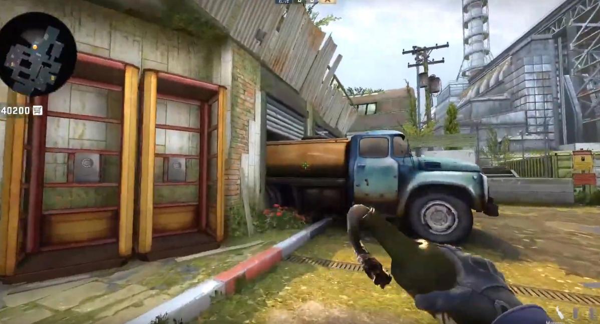 Раскидка гранат на обновленной карте Cache в CS:GO
