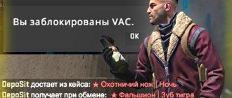 Как сделать фейковый в VAC BAN и выпадение ножа в CS GO