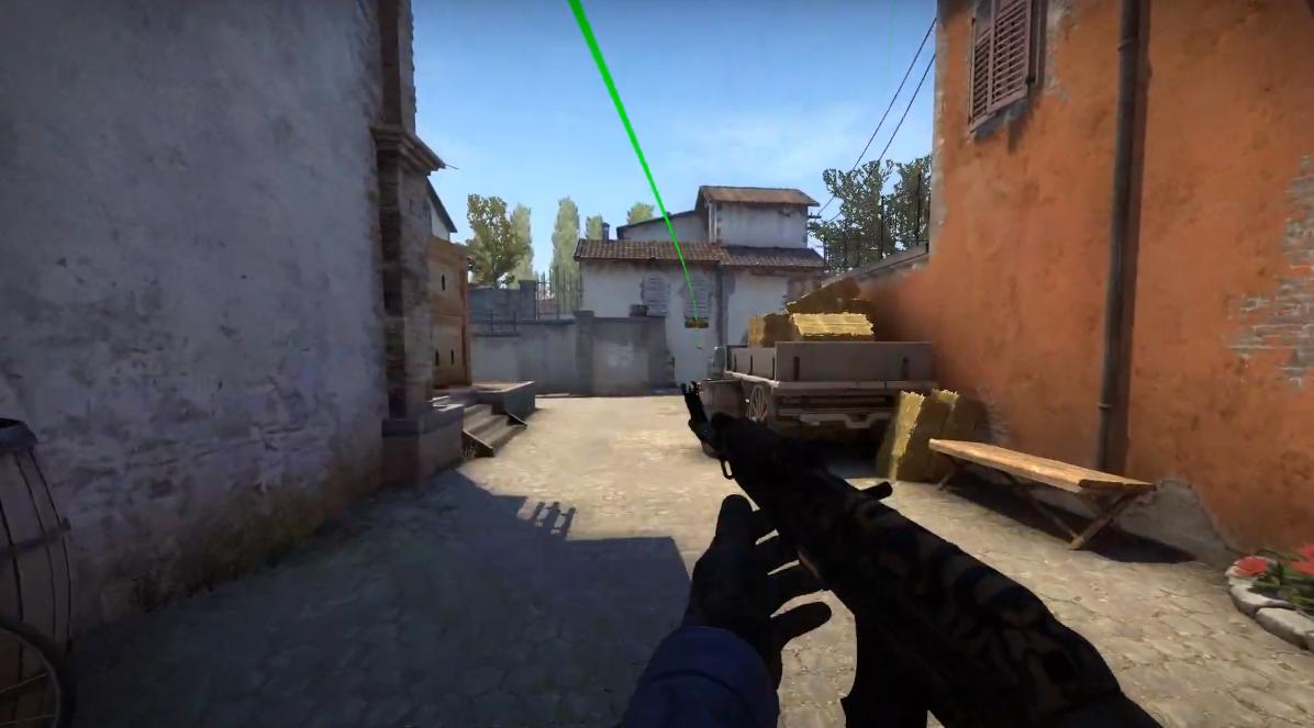 Раскидка гранат на карте inferno в CS:GO